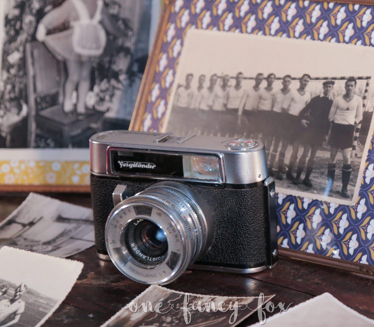 Voigtländer Vintage Fotoapparat