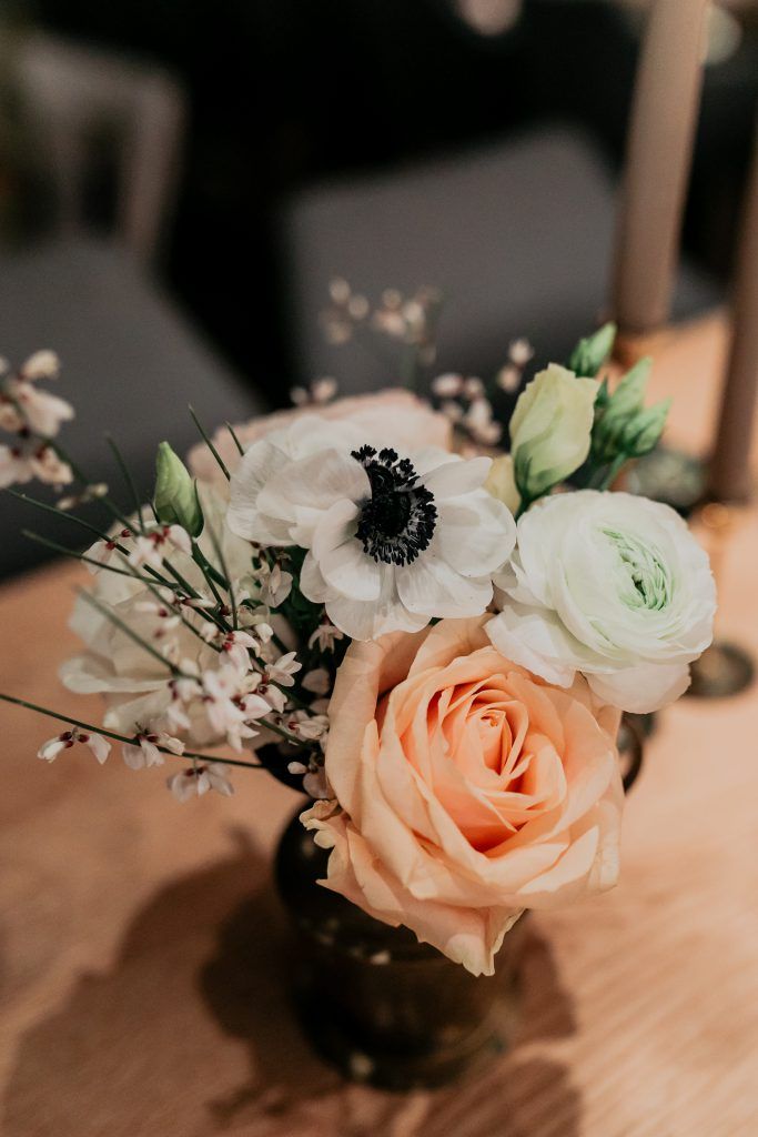 florals winter wedding