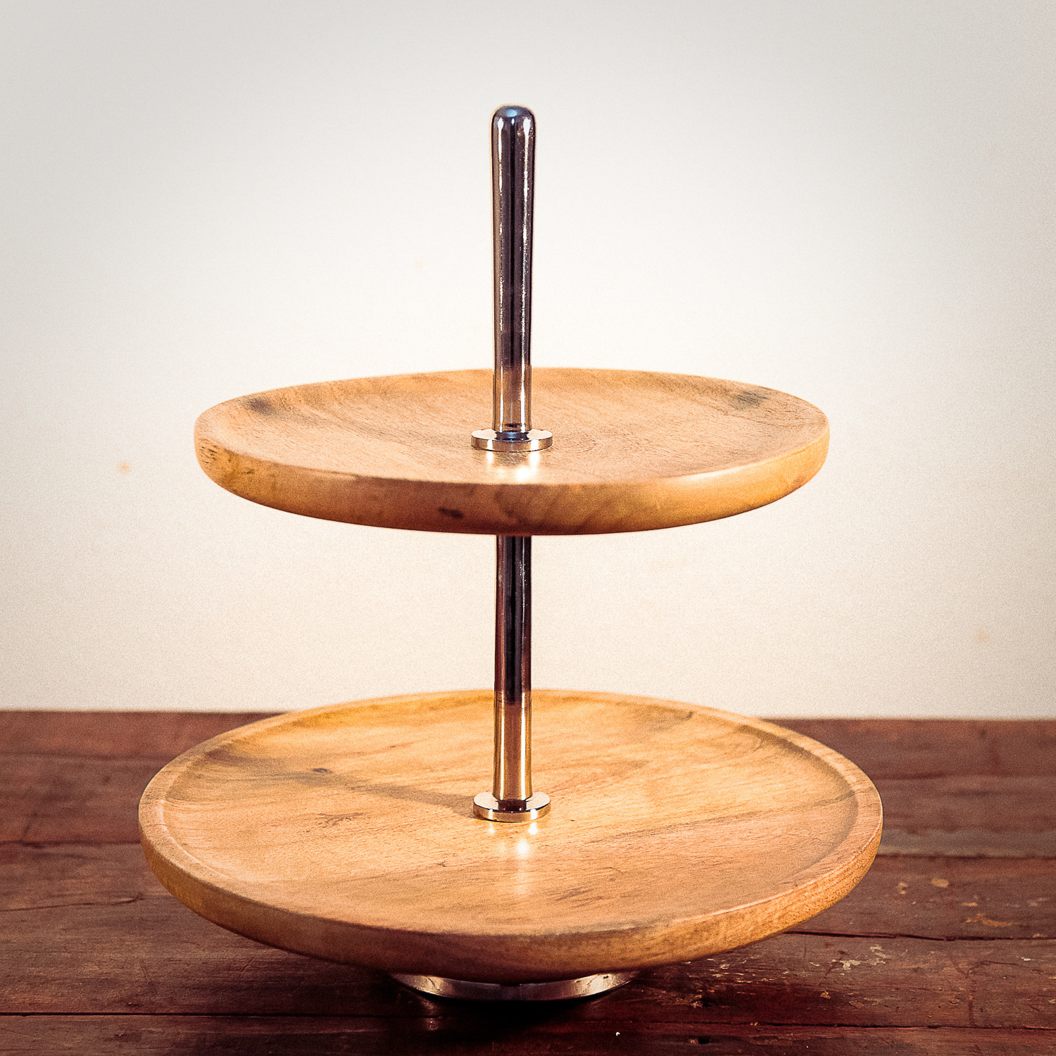 Holzetagere mieten Cake Stand Holz