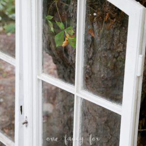 Alte Fenster mieten für Hochzeiten und Feste