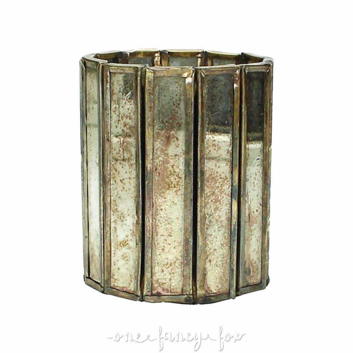 Teelichthalter Gold leihen