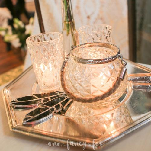 Teelichthalter Vase mieten