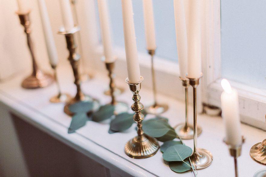 Messing Kerzenhalter Mieten Dekoverleih