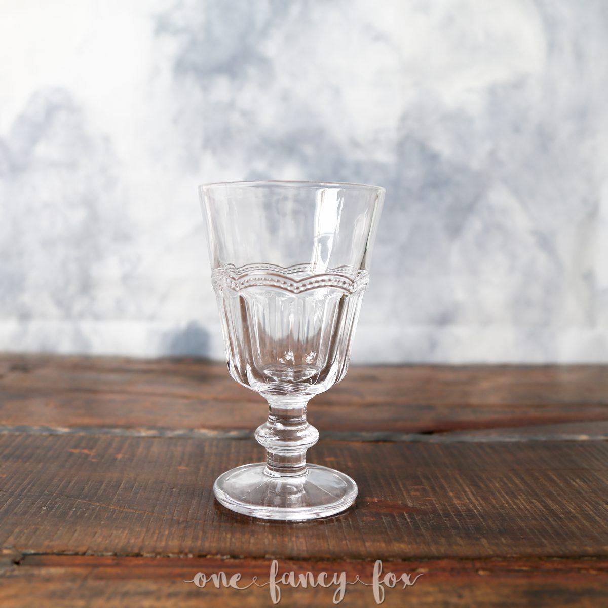 Wasserglas Weinkelch mieten