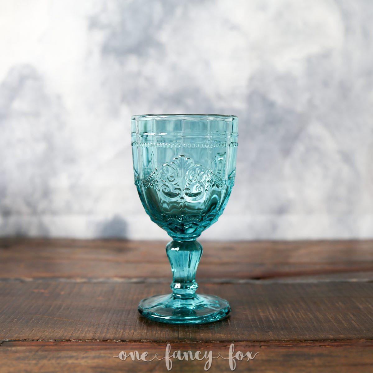 Weinkelch Blau mieten