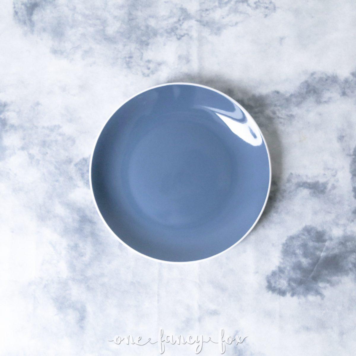 Teller Blau mieten