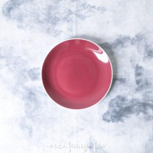 Dessertteller Rubin