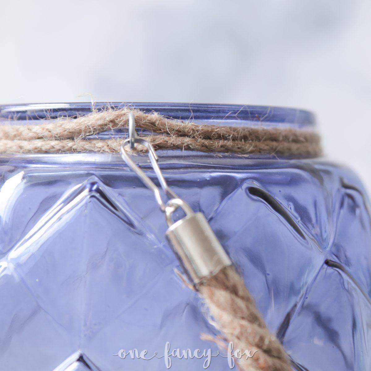 Vase Windlicht