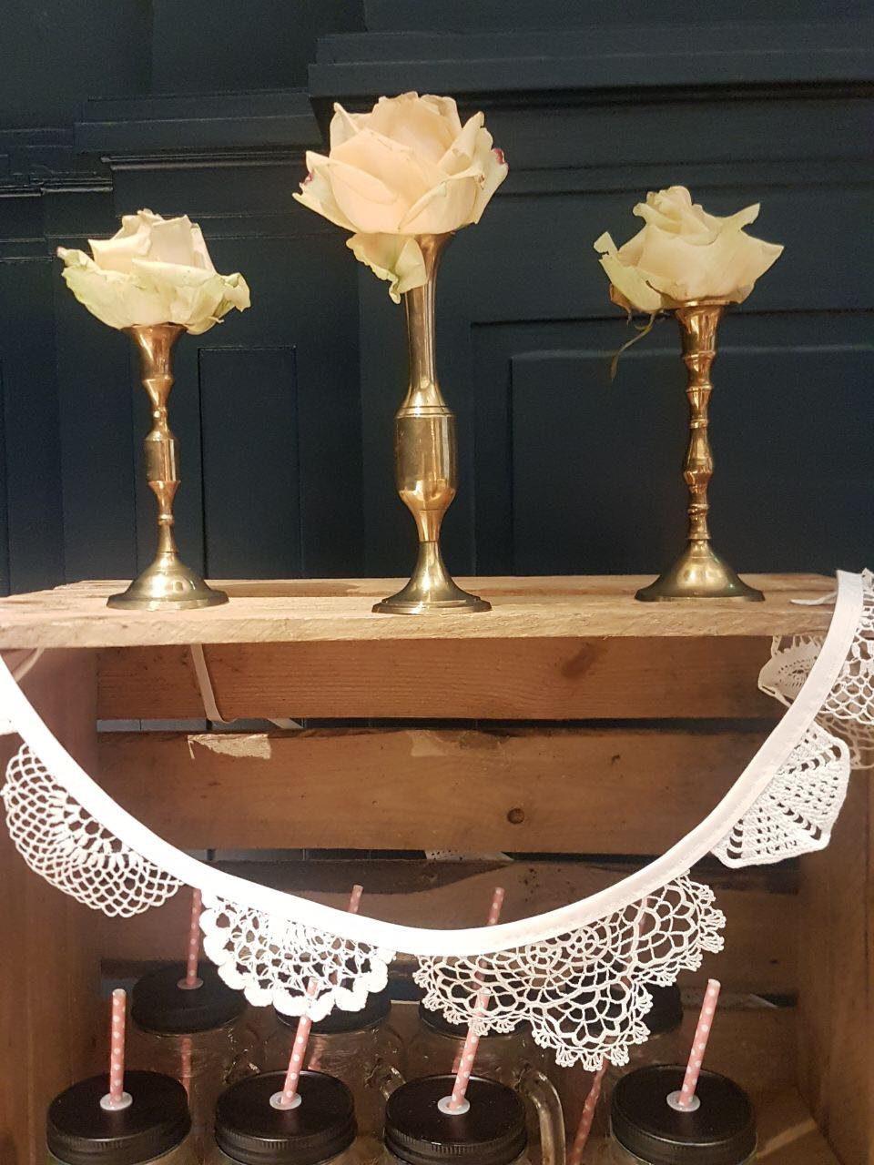 Vase Wimpelkette