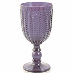 Weinkelch Violett mieten