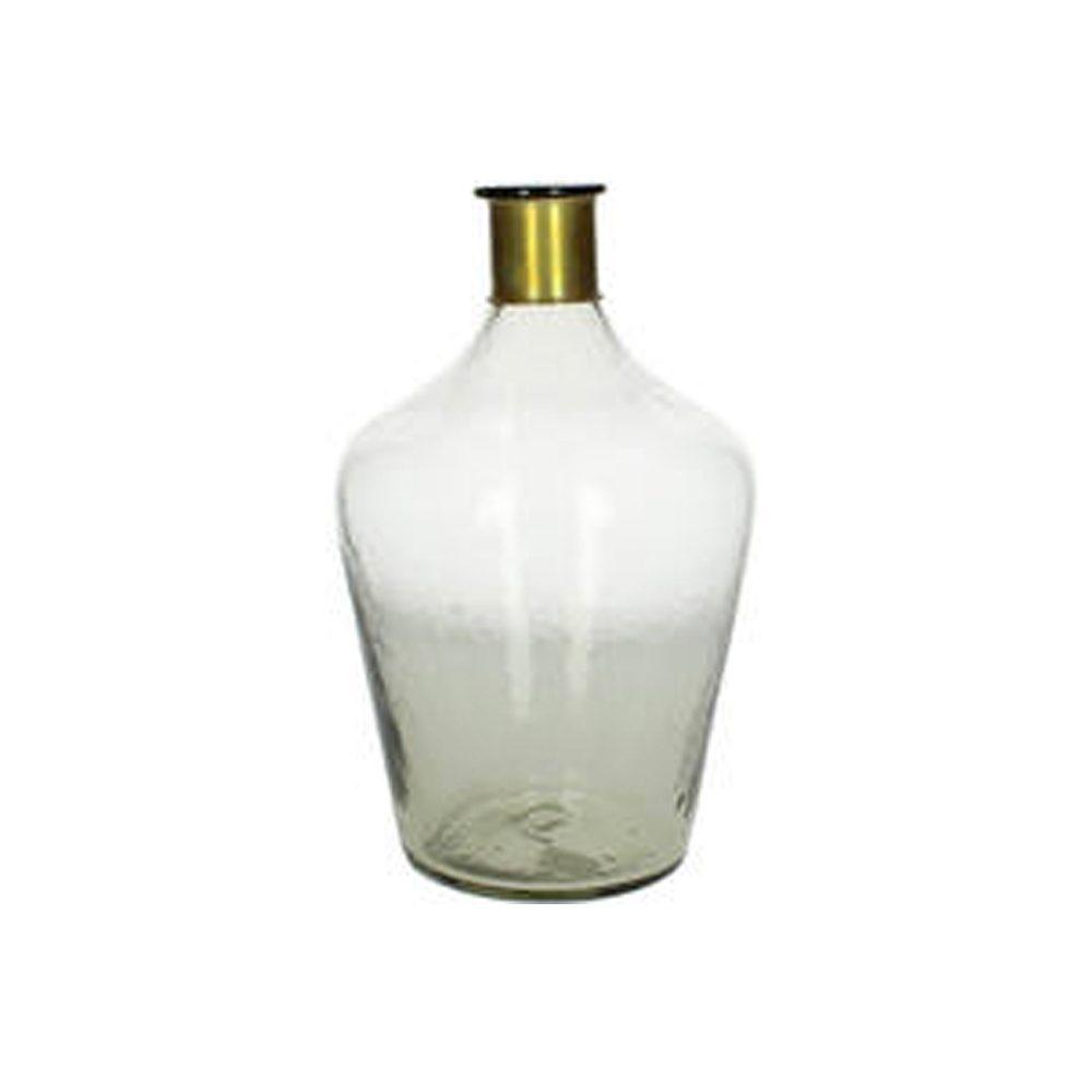 Flaschenvase Kiki Messingring mieten