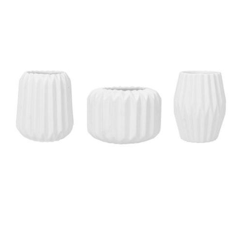 Vasen Set mieten Weiß