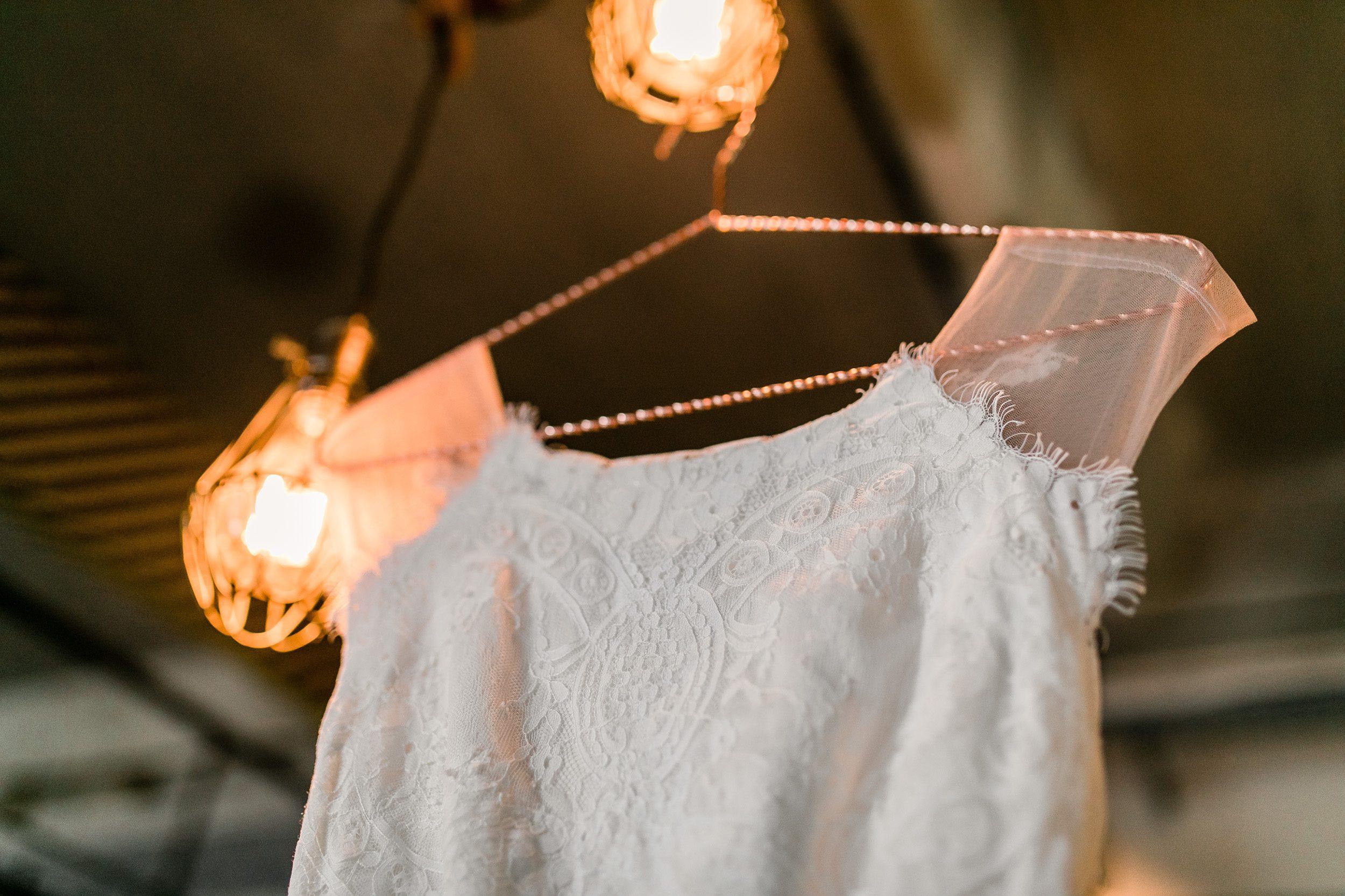 Kleiderbügel Kupfer
