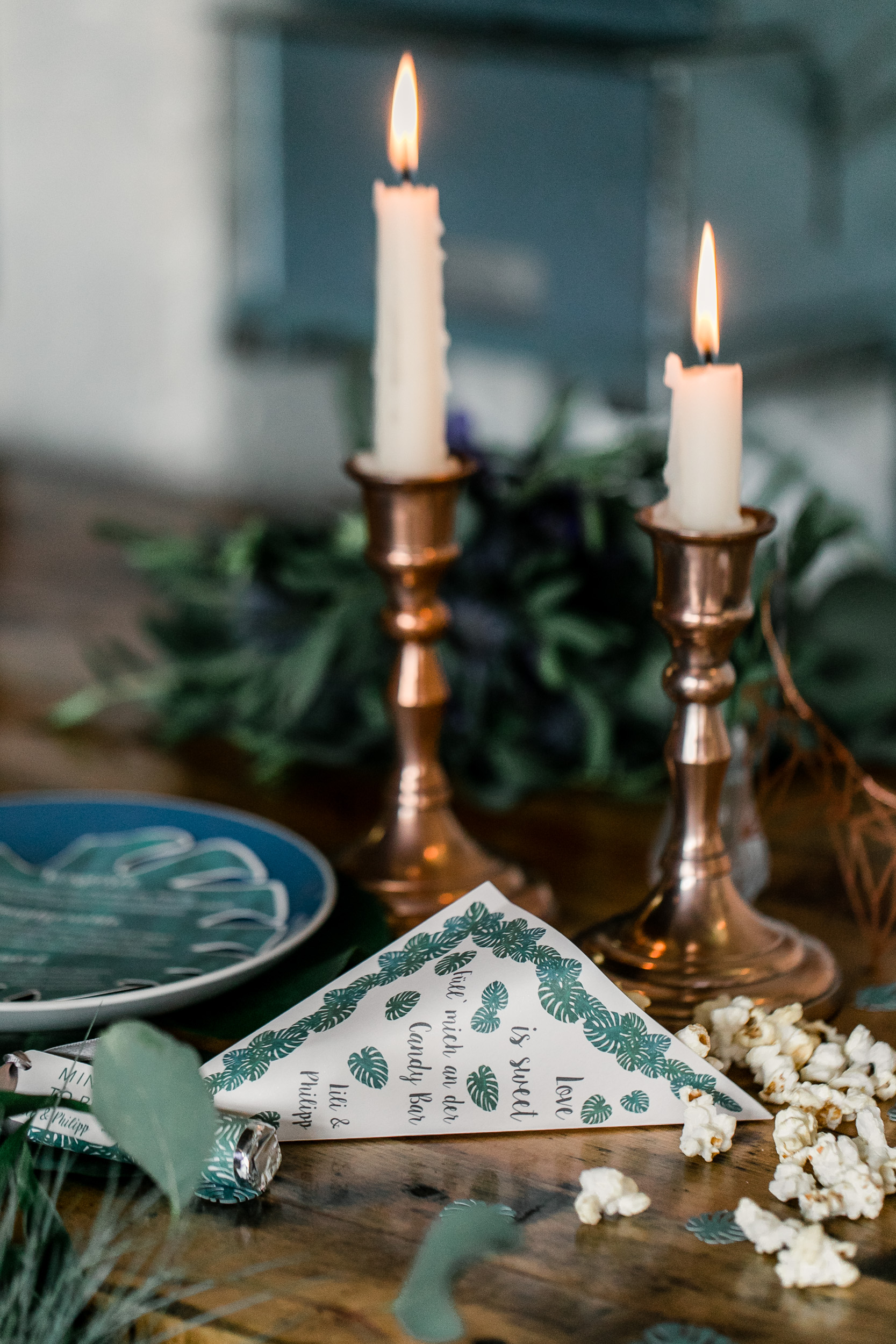 Kerzenhalter Kupfer mieten