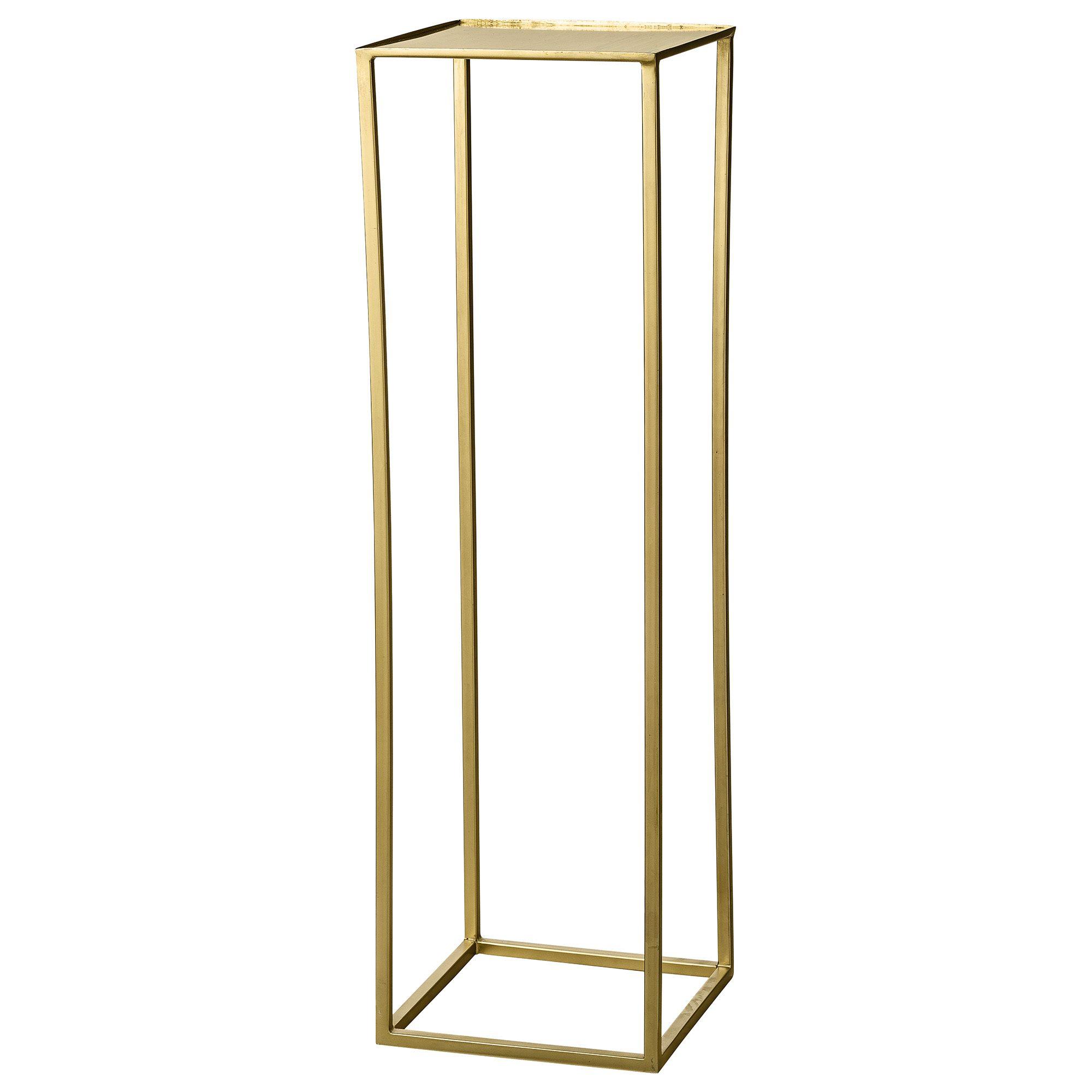 Blumenständer Gold Blumentisch Konsole Tischständer Centerpiece Holder High