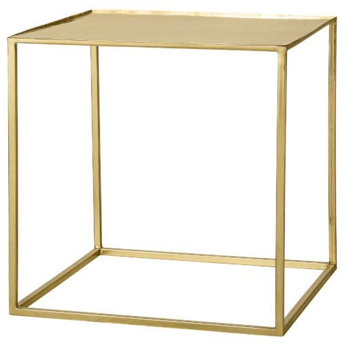 Beistelltisch Cube Gold