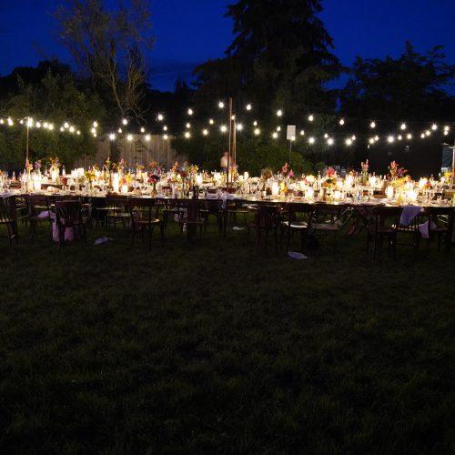 Lichterkette outdoor
