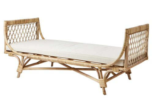 Rattan Day Bed Boho Sitzgelegenheit