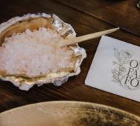 Salzschälchen Auster Gold mieten