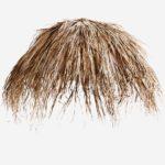 getrocknete Palmenblätter dried palm leaves parasol cover