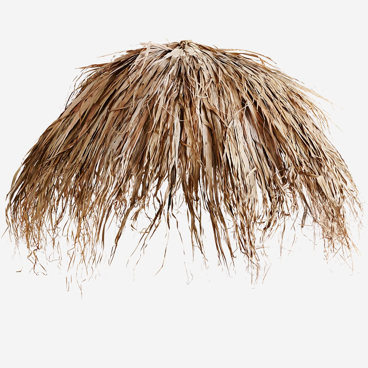 getrocknete Palmenblätter dried palm leaves parasol cover